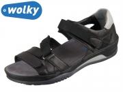 Wolky Ripple 0105030-000 black Savanna Leather