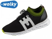 Wolky Tera 0205290-012 black offwhite 3D Knitting