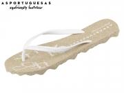 Asportuguesas Turtle M P01805-7000 white Rubber Strape