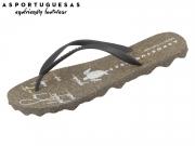 Asportuguesas Turtle M P01805-7001 black Rubber Strape