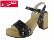 Softclox Eilyn 3337-50 schwarz Kroko