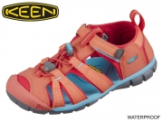 Keen Seacamp II CNX 1022974-1022989 coral poppy red