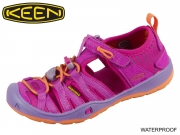 Keen Moxie Sandal 1016353-1016356 purple wine nasturtium