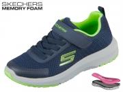 Skechers 98151L NVLM blau Textil