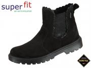 SuperFit SPIRIT 5-09458-00 schwarz Velour-Effektleder
