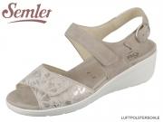 Semler Ramona R9045868028 panna Flower Print Samt  Chevro