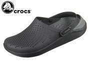 Crocs LiteRide Clog 204592-0DD black slate grey