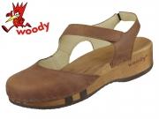 Woody Nicole 16542 ta tabacco Fettleder