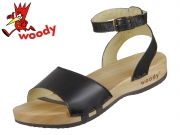 Woody Jana 16222 schwarz schwarz Leder