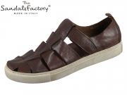 The sandals factory M7033-530 beige marrone Tinder Vacc