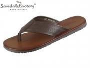 The sandals factory M7001 cioccolato Adria