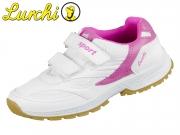 Lurchi Matti 33-23420-30 white pink Synthetik Textil