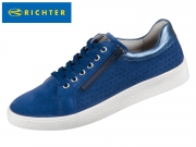 Richter 3641-7121-6821 nautical atlantic Velour Metallicleder