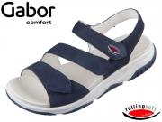 Gabor Rolling Soft 46.827-36 blue Nubuk