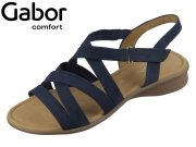 Gabor Florenz G 46.066-36 blue Nubuk soft