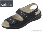 Solidus Happy 23000 80308 nightblue silver Nubuk Dorado
