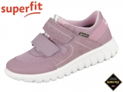 superfit SPORT7 MINI 0-606197-9000 lila rosa Velour Tecno