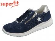superfit Merida 0-600186-8000 blau Velour Effektleder