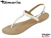 Tamaris 1-28061-34-100 white Leder