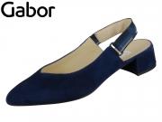 Gabor 41.541-16 bluette Samtchevreau