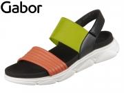 Gabor 43.611-20 multicolour Lammnappa