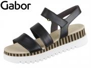 Gabor 44.660-27 schwarz Nappa