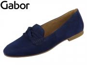 Gabor 44.211-16 bluette Samtchevreau
