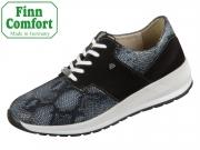 Finn Comfort Caino 05061-902099 nero schwarz Stretch Snake Nubuk