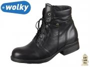 Wolky Center LF 0263220-000 black Velvet Leather