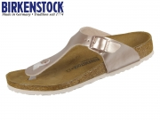 Birkenstock Gizeh 1012526 electric metall copper Birkoflor