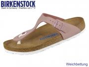 Birkenstock Gizeh 1016400 old rose Soft Nubuck
