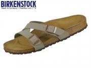 Birkenstock Yao 1016351 stone Birkoflor Nubuck