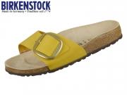 Birkenstock Madrid Big Buckle 1015716 ochre Nubkleder