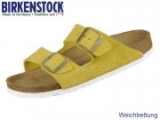 Birkenstock Arizona 1015890 ochre Veloursleder