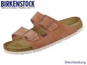 Birkenstock Arizona 1015888 earth ride Velour Suede