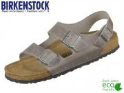 Birkenstock Milano 1014900 iron Fettleder Oiled Leather