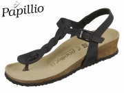 Papillio Ashley 1015811 black Fettleder Braid