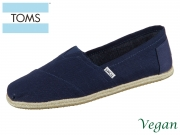 TOMS Alpargata 10008553 blue Canvas