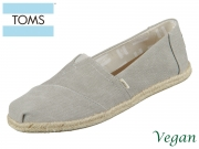 TOMS Alpargata 10009754 grey Washed Canvas