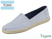 TOMS Alpargata 10015054 blue Woven
