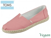 TOMS Alpargata 10015058 pink Canvas Rope