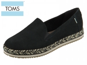 TOMS Palma 10015093 black Suede