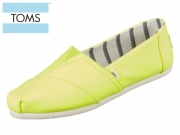 TOMS Alpargata 10015259 yellow Canvas