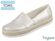 TOMS Platform Alpargata 10015352 natural Canvas