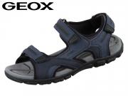 Geox U8224D-0BC50-C4422 navy dark grey Vitello Synthetik
