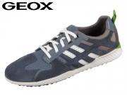 Geox U Snake 2.A U948DA-022FU-C4K9M dk avio stone Scam Nylon