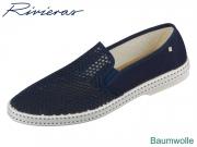 Rivieras Classic Riv20-2004 navy Textile