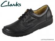 Clarks Nature II 1047164 black Leder