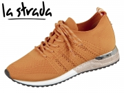 la strada Laced Up Knitted Sneaker 1802649-4534 orange knitted