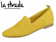 la strada Knitted Loafer 1804422-4582 yellow knitted